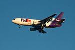 Fed Ex Airplane Flying