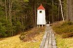 Rear Range Light, Kennebec River Light Station, Doubling Point Range Lights, Bath, Maine