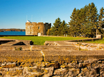 Archaeological Ruins and Fort William Henry, Colonial Pemaquid State Historic Site, New Harbor, Bristol, Maine