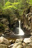 Kinsman Falls, Cascade Brook, Basin Cascades Trail, Franconia Notch State Park, White Mountains, New Hampshire