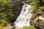 Rocky Glen Falls, Cascade Brook, Basin Cascades Trail, Franconia Notch State Park, White Mountains, New Hampshire