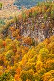 Ledges and cliffs, Boulder Loop Trail, Kancamagus Highway, White Mountains, New Hampshire