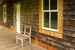Porch, Kestner Homestead, Quinault Rainforest, Olympic National Park, Washington