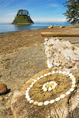Shell Memorial and Tskawahyah Island, Cape Alava Loop, Ozette Triangle, Olympic National Park, Washington