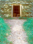Mine Tunnel Entrance, Battle of the Crater, Petersburg National Battlefield, American Civil War, Virginia