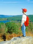 Young Boy at Enfield Lookout, Quabbin Reservoir, Belchertown, Massachusetts
