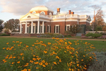 Monticello, President Thomas Jefferson Plantation, Neo-Classical 18th Century Architecture, Charlottesville, Virginia