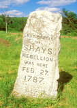 Last Battle of Shays Rebellion Monument, Berkshires, Sheffield, Massachusetts
