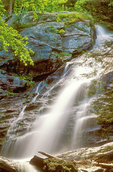 Race Brook Falls, Berkshires, Sheffield, Massachusett