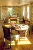 Interior Room, Summit Prospect House on Mt. Holyoke, Joseph Allen Skinner State Park, South Hadley, Massachusetts