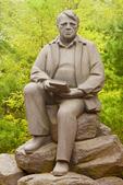 Robert Frost Statue, Amherst College, Amherst, Massachusetts