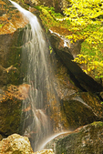 Bridal Veil Falls, Coppermine Trail, Coppermine Brook, White Mountains, Franconia, New Hampshire
