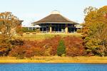 Salt Pond Visitor Center from the Nauset Marsh Trail, Cape Cod National Seashore, Eastham, Massachusetts