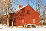 Ethan Allen Homestead in Winter, Burlington, Vermont