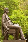 Charles Sumner Statue, Harvard Square, Cambridge, Massachusetts