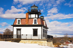 Colchester Reef Lighthouse in Winter, Shelburne Museum, Burlington, Vermont