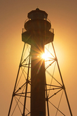 Sanibel Island Light Sunset, Point Ybel Light, Historic 19th Century Lighthouse, Florida