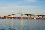 Claiborne Pell Newport Bridge, Narragansett Bay, Newport, Rhode Island