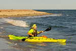 Kayaking by Parker River National Wildlife Refuge, Plum Island, Newburyport, Massachusetts