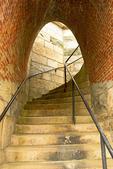 Staircase, Fort Adams State Park, Newport, Rhode Island