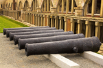 Cannons and West Wall Casemates, Fort Adams, Newport, Rhode Island