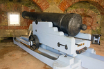 Cannon Inside North Casemate, Fort Adams, Newport, Rhode Island