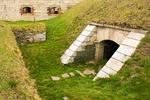 Interior Defenses Inside South Wall, Fort Adams, Newport, Rhode Island