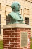 John Adams Bust, Fort Adams State Park, Newport, Rhode Island