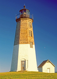 Point Judith Light, Narragansett Bay, Rhode Island,