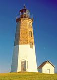 Point Judith Light, Narragansett Bay, Rhode Island,
