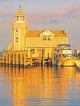 Old Saybrook Marina and Lighthouse, Saybrook Point Marina, Connecticut