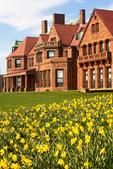 Salve Regina University, Vinland, McAuley Hall, Romanesque Revival style, Newport, Rhode Island