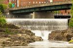 Winooski Falls, Winooski River, Winooski Burlington, Vermont