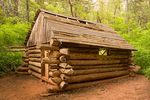 Arthur Fife Cabin, Middle Fork of Taylor Creek Trail, Kolob Canyons section, Zion National Park, Utah