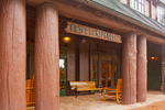 Bryce Canyon Lodge, Rustic Architectural Style, Bryce Canyon National Park, Utah