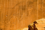 Fremont Culture Petroglyph, Capitol Reef National Park, Fruita, Utah