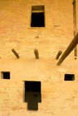 Balcony House Ruins, Ancestral Puebloan Anasazi Cliff Dwelling, Mesa Verde National Park, Colorado