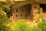 Spruce Tree House Ruins, Ancestral Puebloan Anasazi Cliff Dwelling, Mesa Verde National Park, Colorado