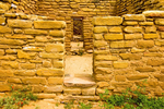Far View Ruins Doorway, Ancestral Puebloan Dwelling, Mesa Verde National Park, Colorado,