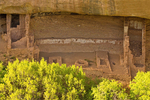 Fire Temple, Ancestral Puebloan Cliff Dwelling, Mesa Verde National Park, Colorado