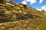 Green Stone Masonry, Ancestral Puebloan Ruins, Aztec Ruins National Monument, Aztec, New Mexico