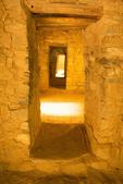 Interior Doorways, Ancestral Puebloan Ruins, Aztec Ruins National Monument, Aztec, New Mexico