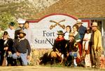 Reenactors, Fort Verde State Historic Park, Camp Verde, Arizona