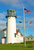 Chatham Light, New England Lighthouse, Cape Cod, Chatham, Massachusetts