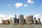 New York Skyline from Governors Island, Manhattan, New York