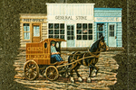 Storefronts Mural, Bannock County Historical Museum, Pocatello, Idaho