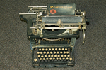 Historic Remington Typewriter, Bannock County Historical Museum, Pocatello, Idaho