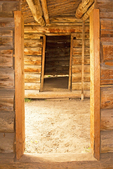 Interior Doorway, Cunningham Cabin, Grand Teton National Park, Wyoming