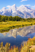 Schwabacher's Landing, Snake River, Grand Teton National Park, Teton Mountain Range, Jackson Hole, Wyomin