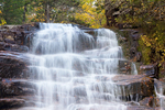 Ripley Falls, Avalanche Brook, Crawford Notch State Park, White Mountains, New Hampshire
